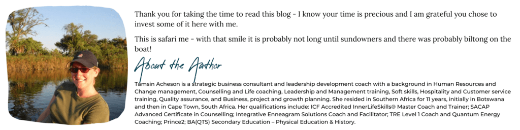 Tamsin Acheson Business Coach South west author